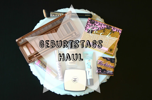 Geburtstags-Haul: Chanel, Benefit, Urban Decay, Zoeva, Essie