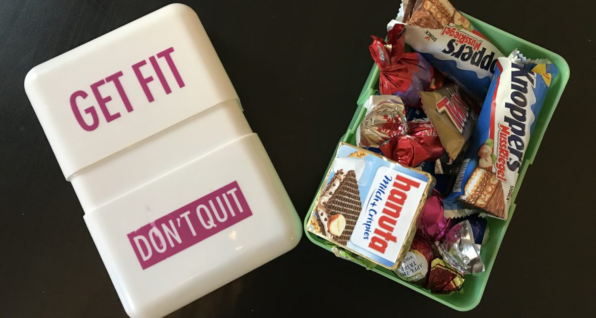 Get fit, don't quit – Oder so.