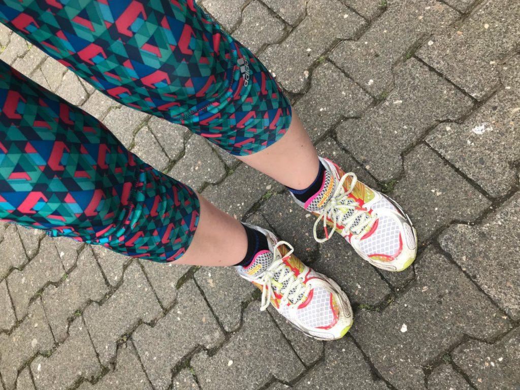Die ersten fünf Kilometer… oder: Heidi Klum macht ja auch sonst nichts